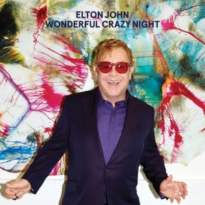 Elton John po raz 33. Wonderful Crazy Night okładka