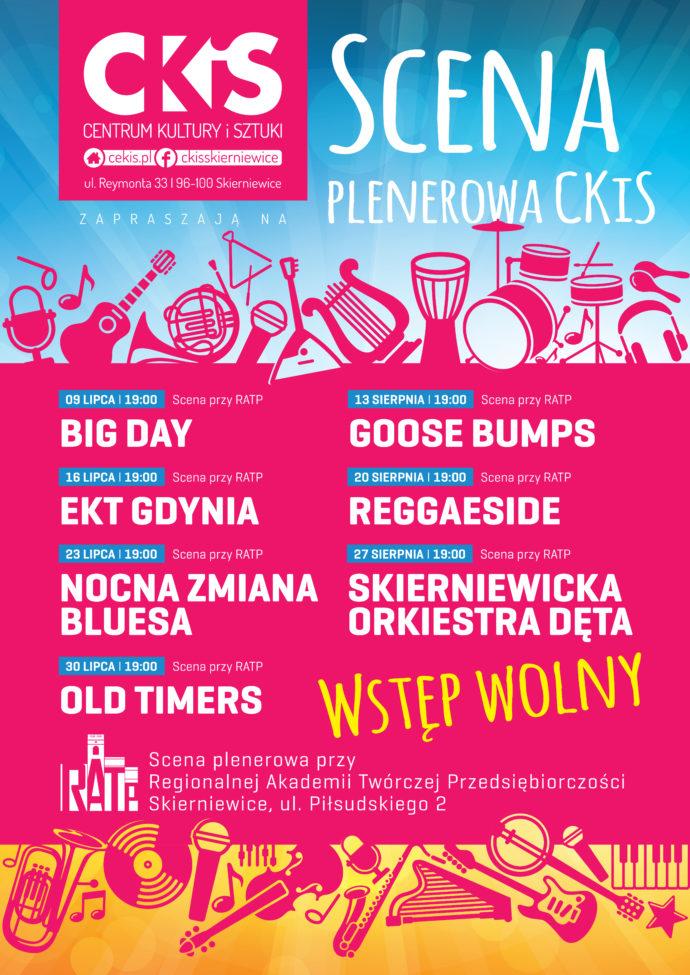 PLAKAT Kino plenerowe CKiS 2016